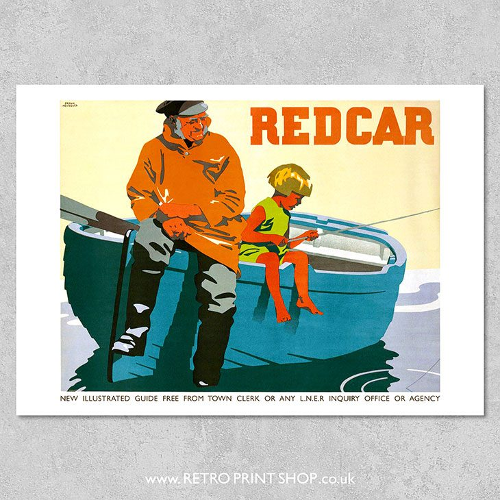 LNER Redcar Poster 2