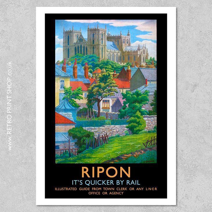 Ripon Poster