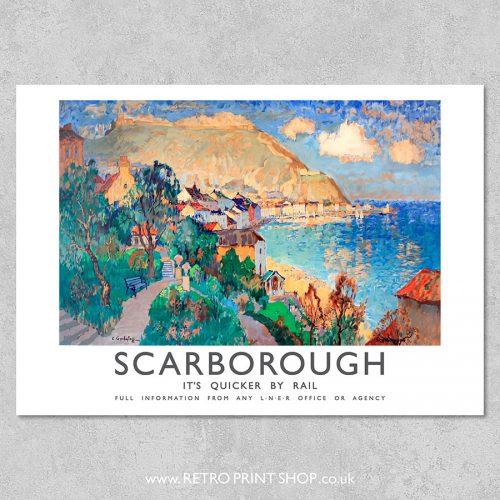 LNER Scarborough Poster