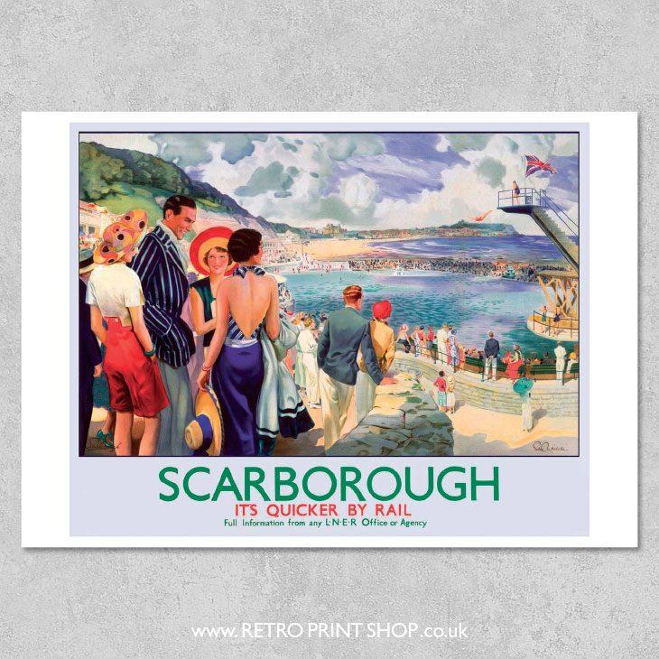 Scarborough Poster