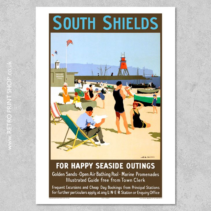 South Shields Poster