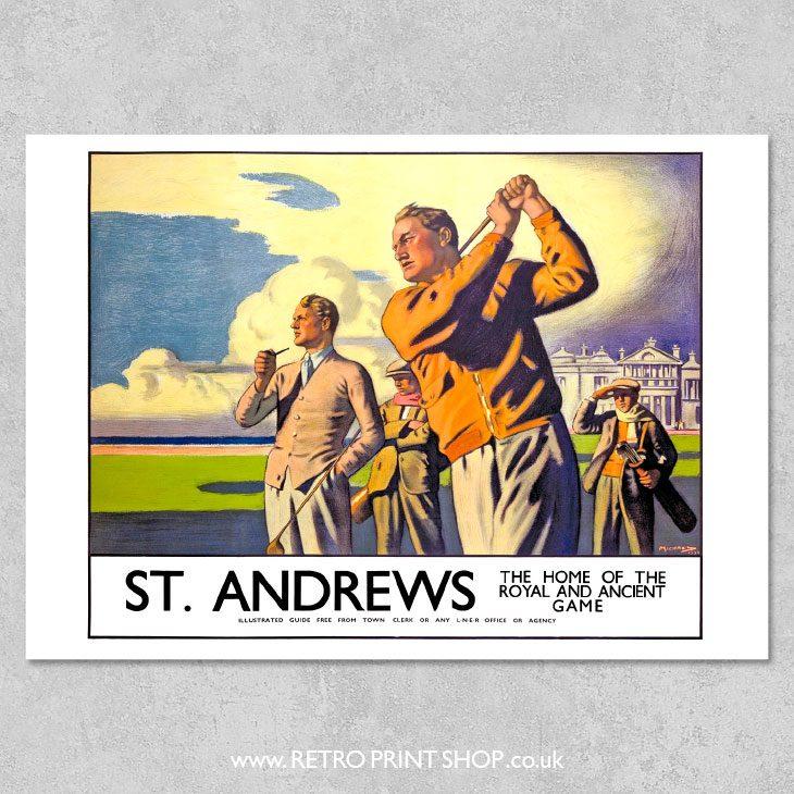 St Andrews Poster 2