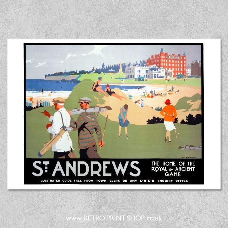 St Andrews Poster