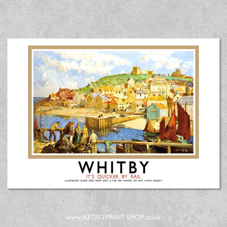 LNER Whitby Poster