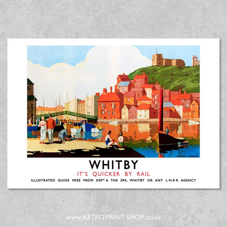 Whitby Poster