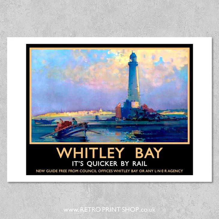 Whitley Bay Poster