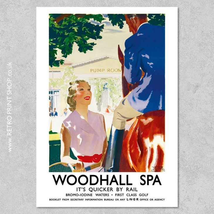 Woodhall Spa Poster