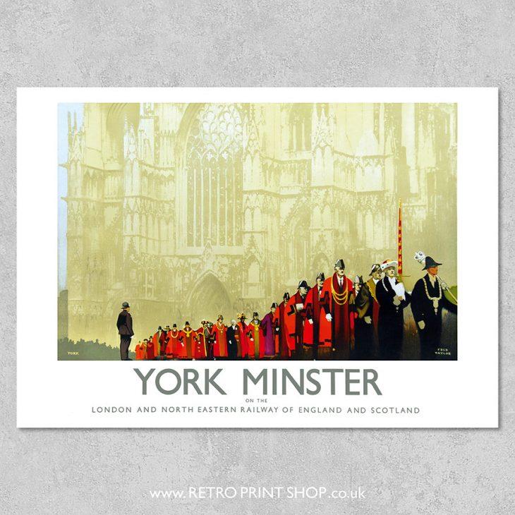 LNER York Minster Poster