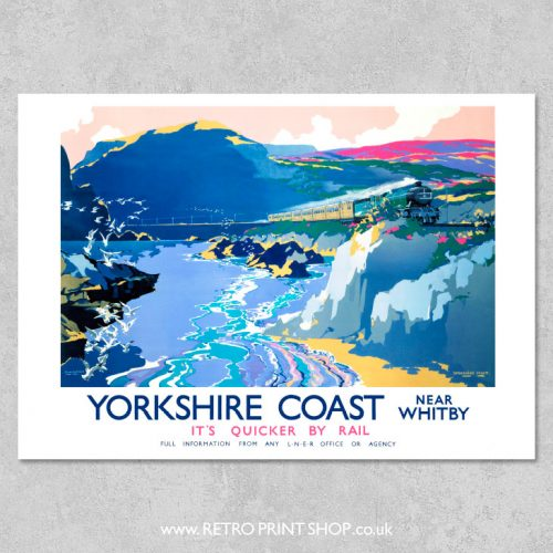 Yorkshire Coast Poster Witby