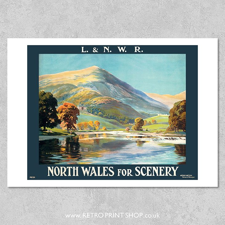 North Wales Poster