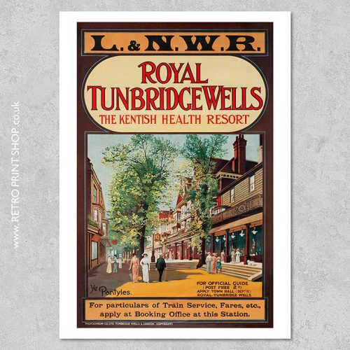 Royal Tunbridge Wells poster