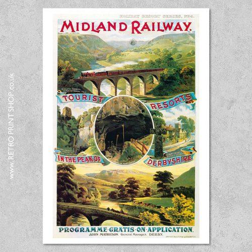 Derbyshire Poster