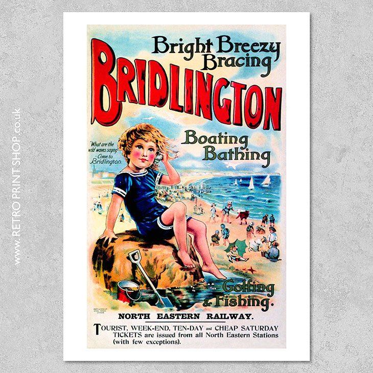 Bridlington Poster