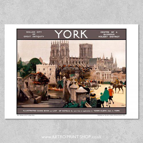 NER York Poster