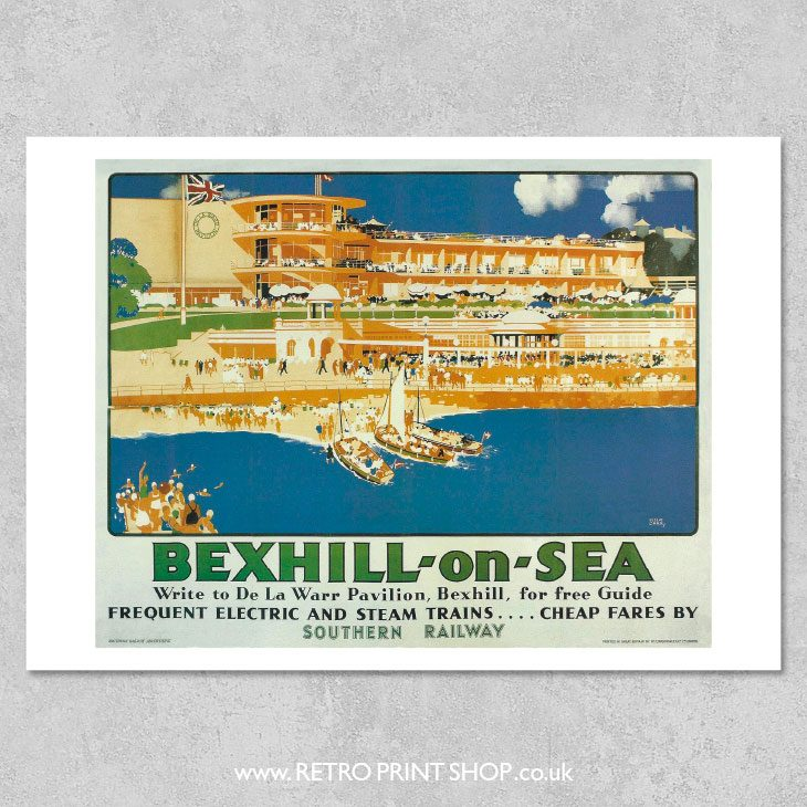 Bexhill-on-Sea Poster 2