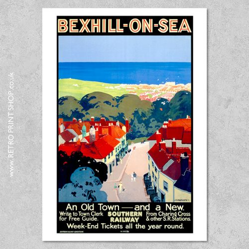 Bexhill-on-Sea Poster 3
