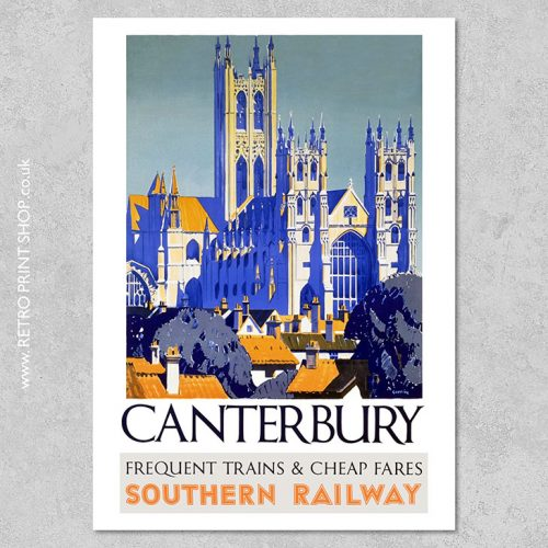 Canterbury Poster