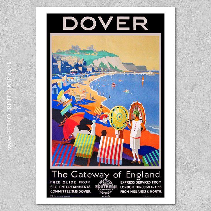 Dover Railway Poster