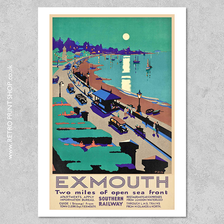 Exmouth Poster