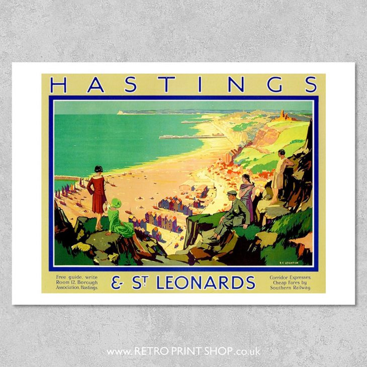 Hastings St Leonards Poster 2