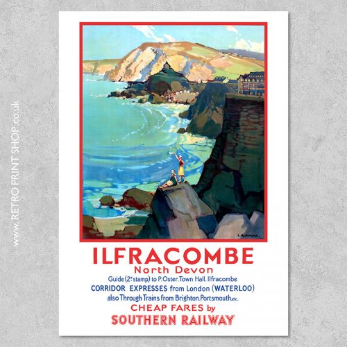 SR Ilfracombe Poster