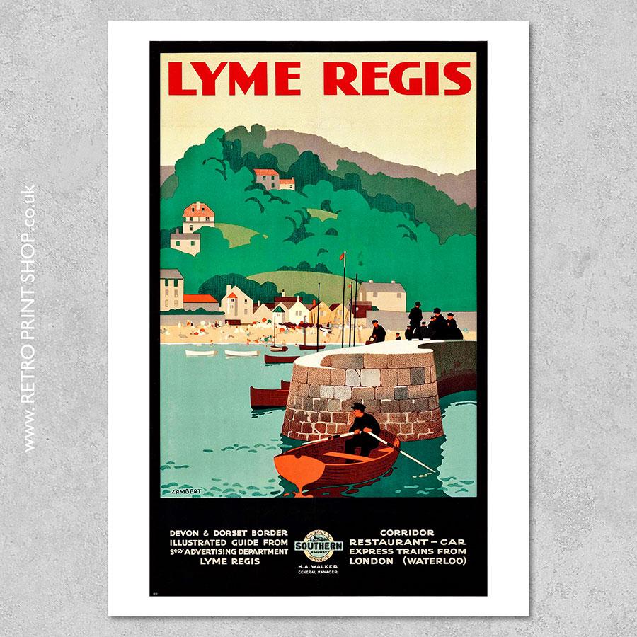 Lyme Regis Poster