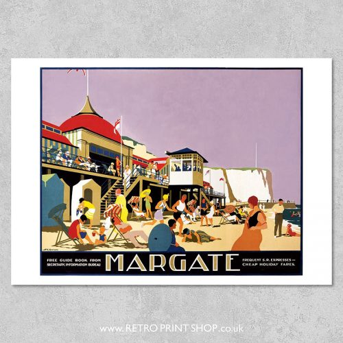 Margate Railway Poster