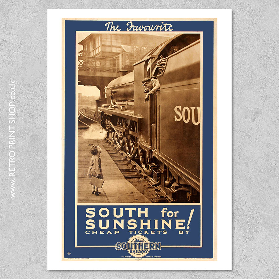 South For Sunshine Poster