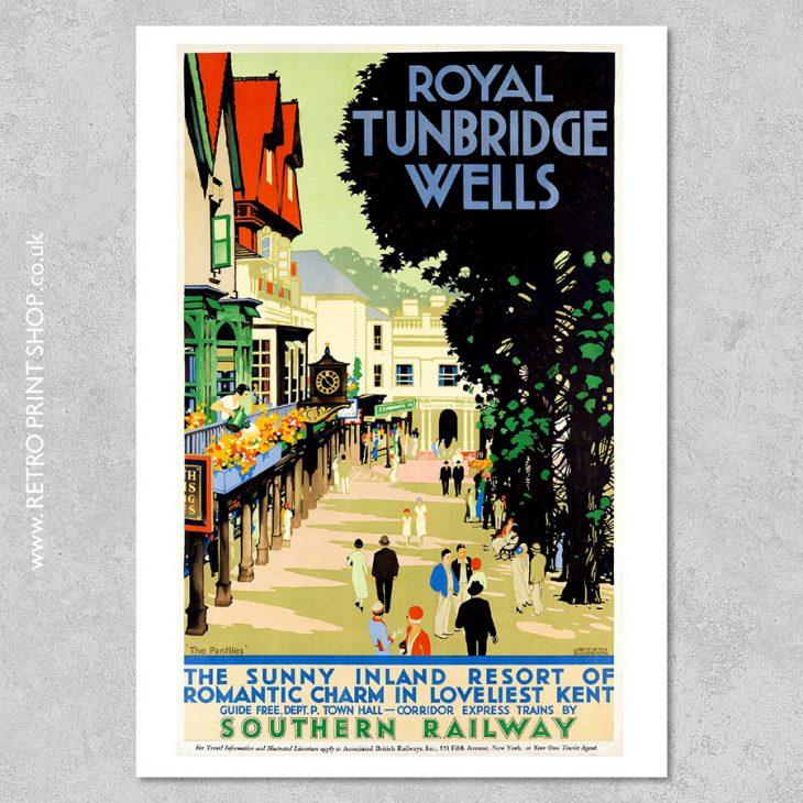 Southern Railway Tunbridge Wells Poster