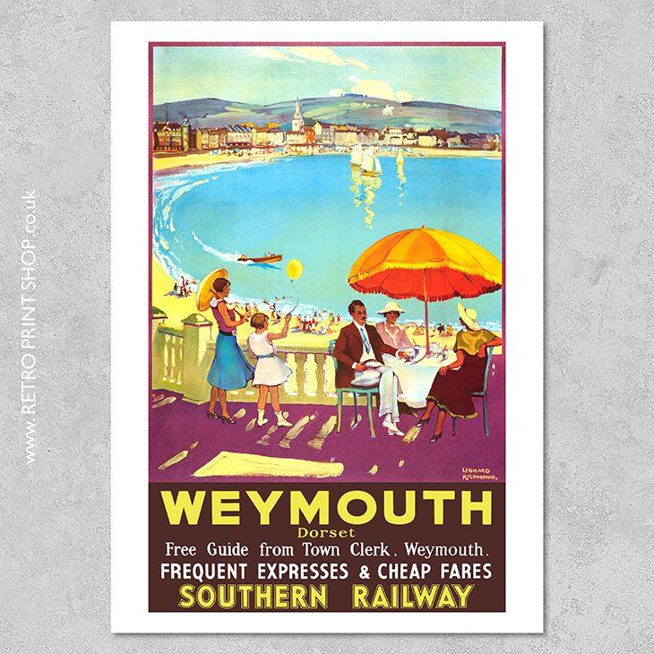Weymouth Poster